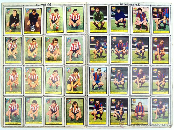 Álbum de fútbol completo: album 1972 1973 Fher Disgra futbol. Campeonato de Liga 72 73. Completo. 2 versiones Iribar - Foto 4 - 48643348
