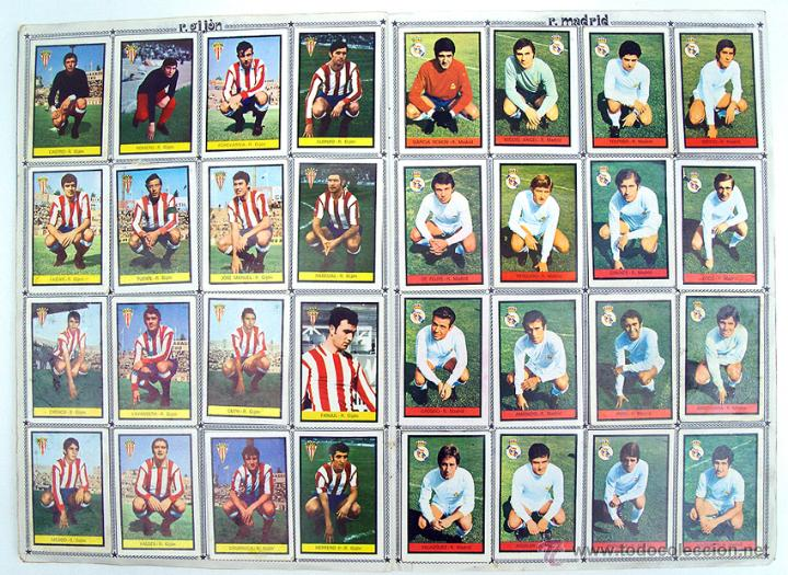 Álbum de fútbol completo: album 1972 1973 Fher Disgra futbol. Campeonato de Liga 72 73. Completo. 2 versiones Iribar - Foto 5 - 48643348