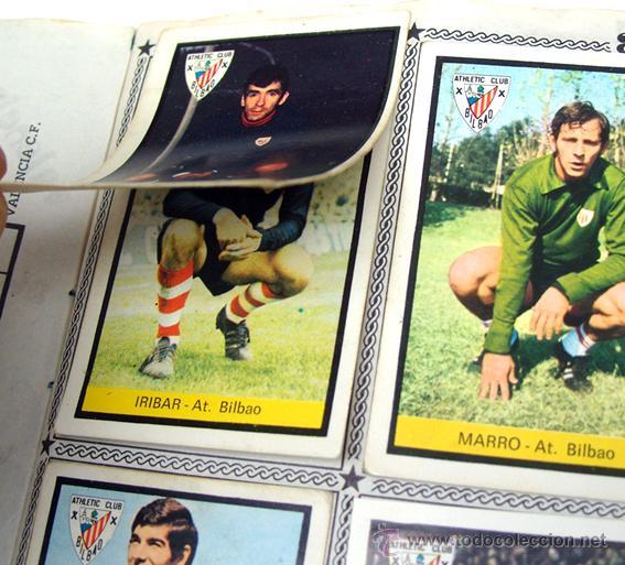 Álbum de fútbol completo: album 1972 1973 Fher Disgra futbol. Campeonato de Liga 72 73. Completo. 2 versiones Iribar - Foto 8 - 48643348