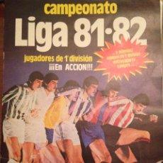 Álbum de fútbol completo: #ÁLBUM #LIGA 81-82 ORIGINAL COMPLETO. Lote 53544319