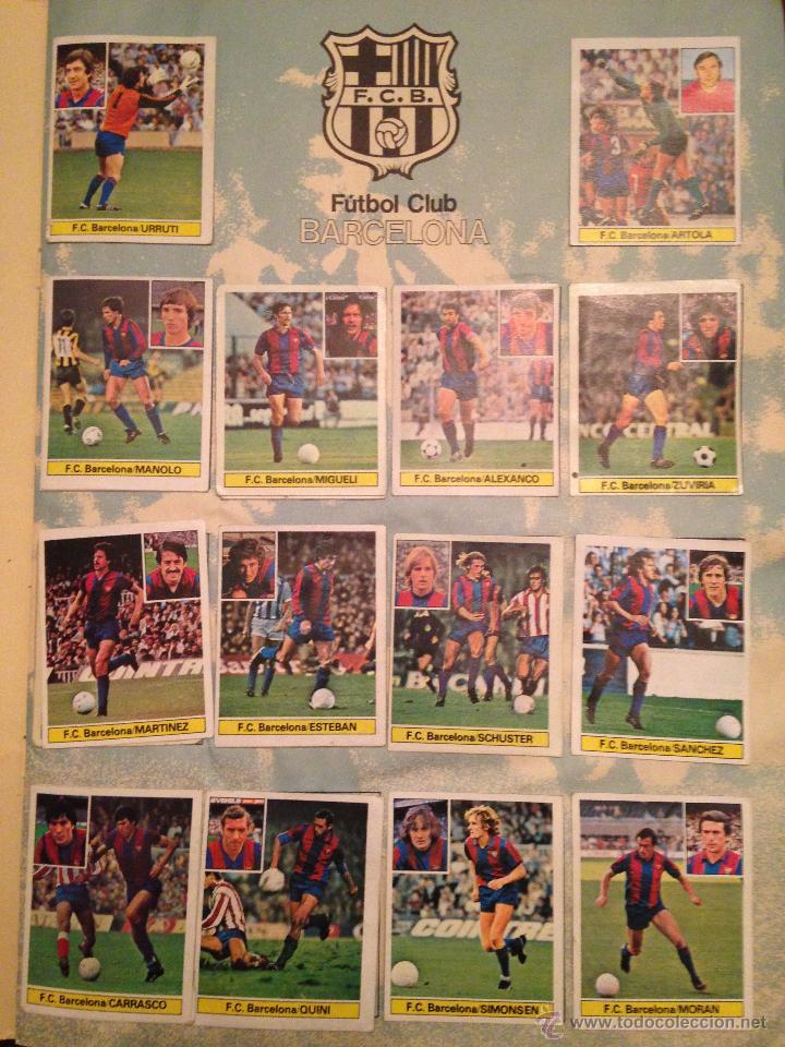 Álbum de fútbol completo: #Álbum #LIGA 81-82 ORIGINAL completo - Foto 2 - 53544319