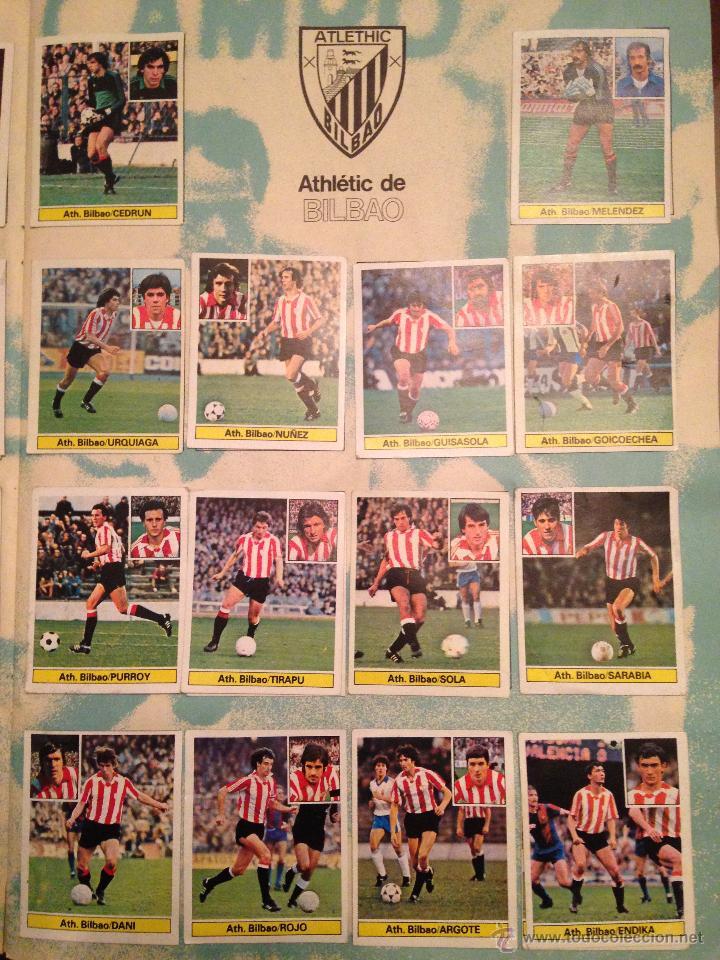 Álbum de fútbol completo: #Álbum #LIGA 81-82 ORIGINAL completo - Foto 3 - 53544319