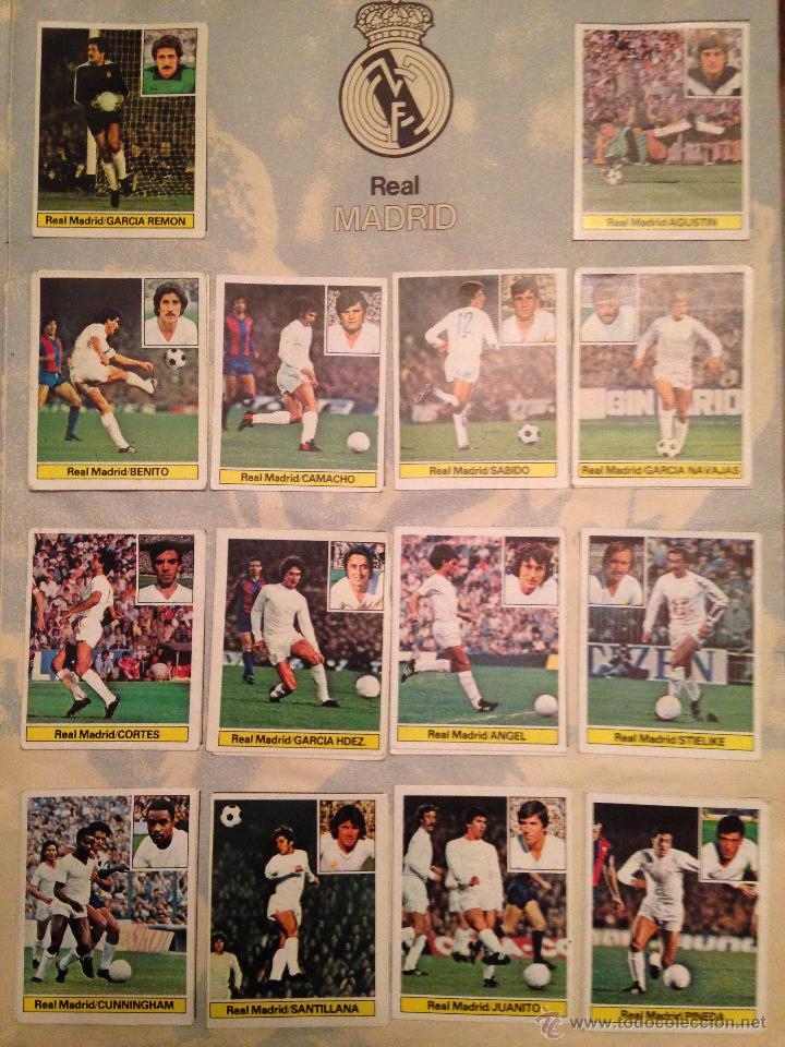 Álbum de fútbol completo: #Álbum #LIGA 81-82 ORIGINAL completo - Foto 4 - 53544319