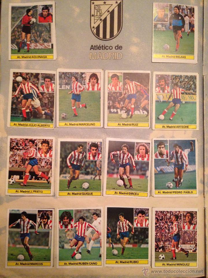Álbum de fútbol completo: #Álbum #LIGA 81-82 ORIGINAL completo - Foto 5 - 53544319