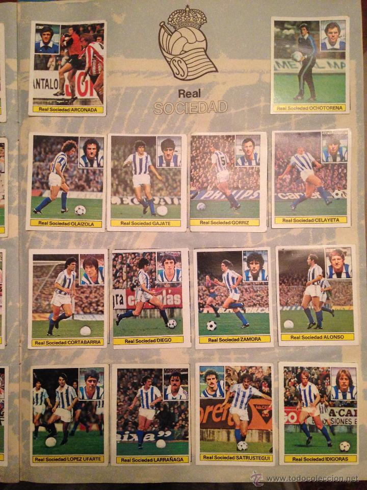 Álbum de fútbol completo: #Álbum #LIGA 81-82 ORIGINAL completo - Foto 6 - 53544319