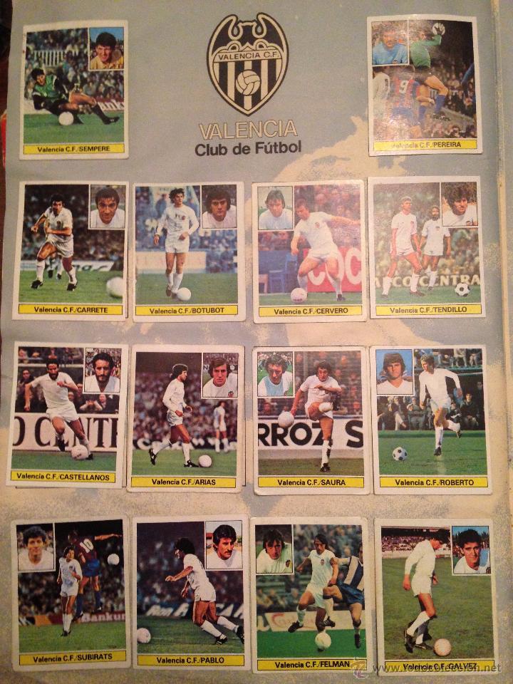 Álbum de fútbol completo: #Álbum #LIGA 81-82 ORIGINAL completo - Foto 7 - 53544319