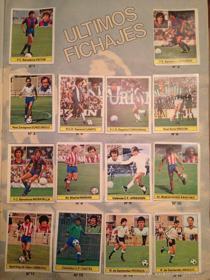 Álbum de fútbol completo: #Álbum #LIGA 81-82 ORIGINAL completo - Foto 8 - 53544319