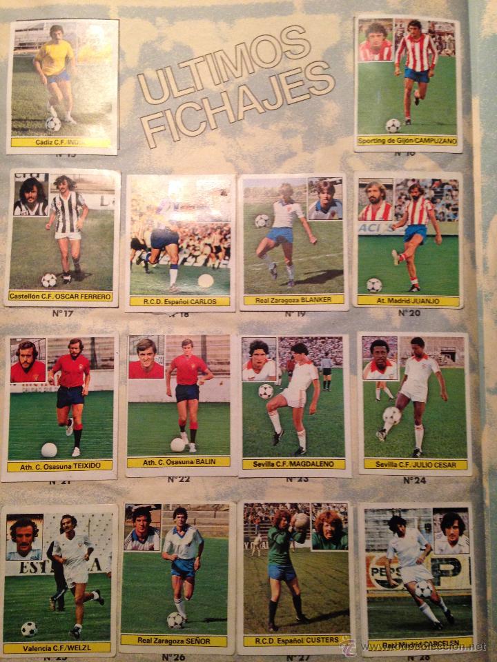 Álbum de fútbol completo: #Álbum #LIGA 81-82 ORIGINAL completo - Foto 9 - 53544319