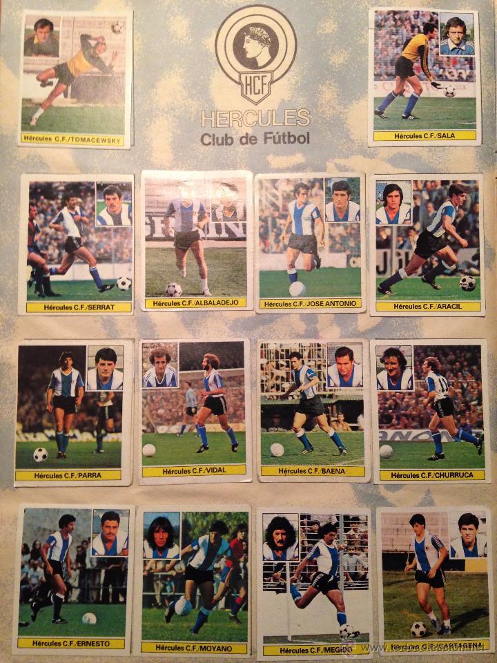 Álbum de fútbol completo: #Álbum #LIGA 81-82 ORIGINAL completo - Foto 10 - 53544319