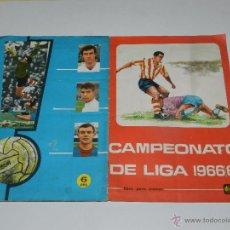 Álbum de fútbol completo: ALBUM CAMPEONATO DE LIGA 1966 / 67, EDT DISGRA , COMPLETO !!! MUY BUEN ESTADO DE CONSERVACION. Lote 53730254