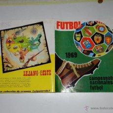 Álbum de fútbol completo: (M) ALBUM FUTBOL 1969 CAMPEONATOS NACIONALES FUTBOL , EDT RUIZ ROMERO, COMPLETO, IMPECABLE ESTADO. Lote 53810322