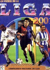 MUNDICROMO LAS FICHAS DE LA LIGA 2001 COLECCIÓN COMPLETA L. ESPAÑOLA (Coleccionismo Deportivo - Álbumes y Cromos de Deportes - Álbumes de Fútbol Completos)
