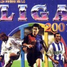 Álbum de fútbol completo: MUNDICROMO LAS FICHAS DE LA LIGA 2001 COLECCIÓN COMPLETA L. ESPAÑOLA. Lote 53986001