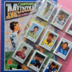 Álbum de fútbol completo: COLECCION COMPLETA EDICIONES ESTADIO MUNDIAL USA 1994 ALBUM VACIO + CROMOS SIN PEGAR WORLD CUP 94 MC. Lote 54214688