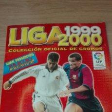 Álbum de fútbol completo: ÁLBUM DE CROMOS DE FUTBOL / LIGA 1999-2000/ COMPLETO. Lote 54632169
