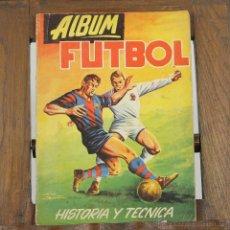 Álbum de fútbol completo: 7238 - ÁLBUM FÚTBOL. HISTORIA Y TÉCNICA. COMPLETO. EDI. EDIGESA. 1959.. Lote 54628881