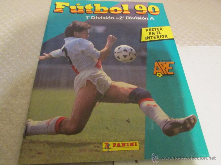ALBUM FUTBOL 90 COMPLETO CROMOS (Coleccionismo Deportivo - Álbumes y Cromos de Deportes - Álbumes de Fútbol Completos)