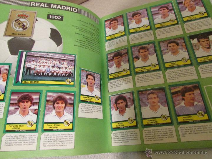 Álbum de fútbol completo: ALBUM FUTBOL 90 COMPLETO CROMOS - Foto 2 - 54866414