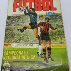 Álbum de fútbol completo: ALBUM CROMOS FUTBOL CAMPEONATOS NACIONALES DE LIGA 1974 - RUIZ ROMERO - COMPLETO CON 2 COLOCAS, LOS. Lote 211850223