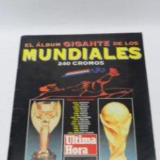 Álbum de fútbol completo: ALBUM GIGANTE DE LOS MUNDIALES - EDITADO POR EL GOVERN BALEAR EN 1994 - COMPLETO, EXCENTE ESTADO, ES. Lote 54945334