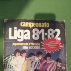 Álbum de fútbol completo: ÁLBUM COMPLETO CROMOS LIGA 81-82. Lote 55108392