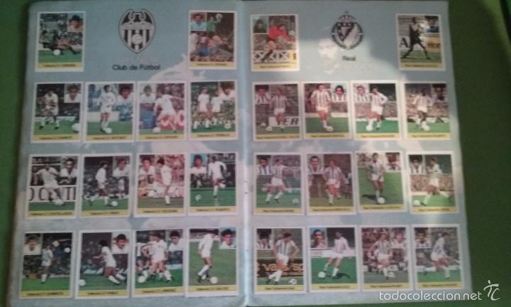 Álbum de fútbol completo: ÁLBUM COMPLETO CROMOS LIGA 81-82 - Foto 2 - 55108392
