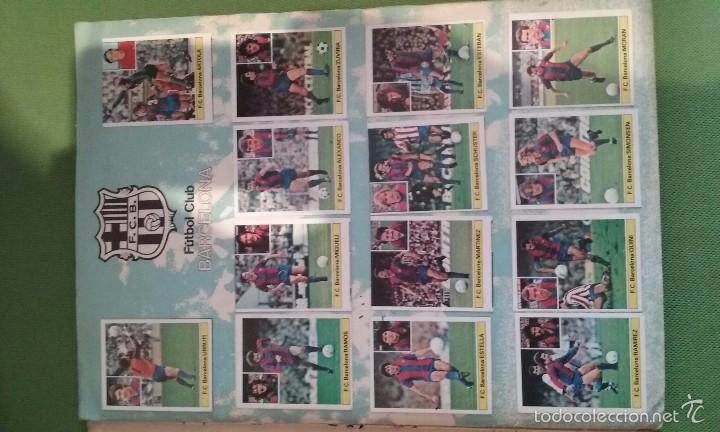 Álbum de fútbol completo: ÁLBUM COMPLETO CROMOS LIGA 81-82 - Foto 3 - 55108392