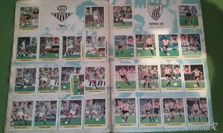 Álbum de fútbol completo: ÁLBUM COMPLETO CROMOS LIGA 81-82 - Foto 4 - 55108392