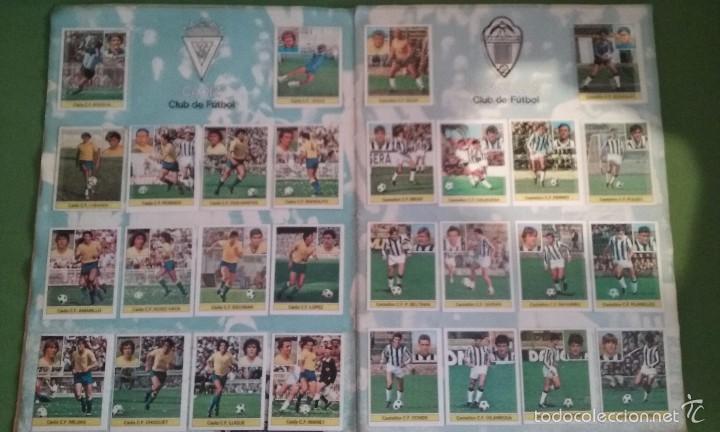 Álbum de fútbol completo: ÁLBUM COMPLETO CROMOS LIGA 81-82 - Foto 5 - 55108392