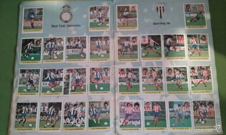 Álbum de fútbol completo: ÁLBUM COMPLETO CROMOS LIGA 81-82 - Foto 7 - 55108392