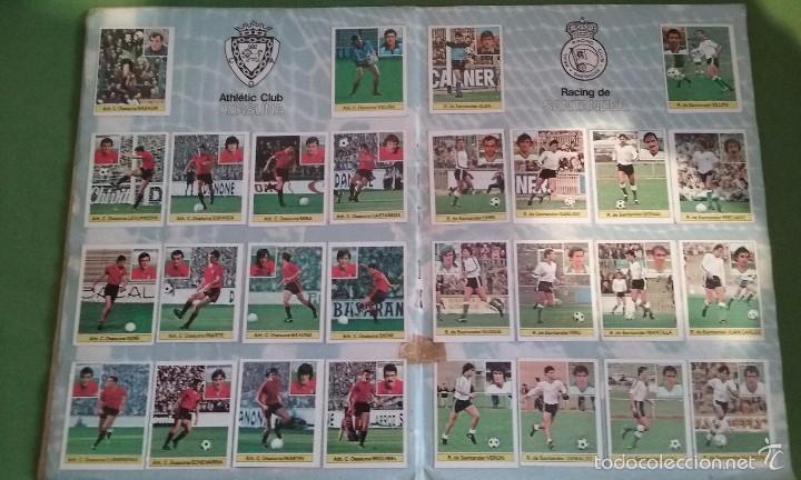 Álbum de fútbol completo: ÁLBUM COMPLETO CROMOS LIGA 81-82 - Foto 9 - 55108392