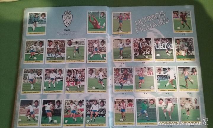 Álbum de fútbol completo: ÁLBUM COMPLETO CROMOS LIGA 81-82 - Foto 11 - 55108392