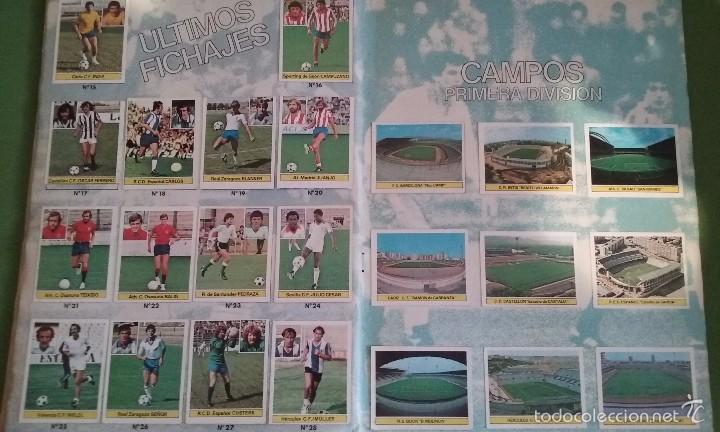 Álbum de fútbol completo: ÁLBUM COMPLETO CROMOS LIGA 81-82 - Foto 12 - 55108392