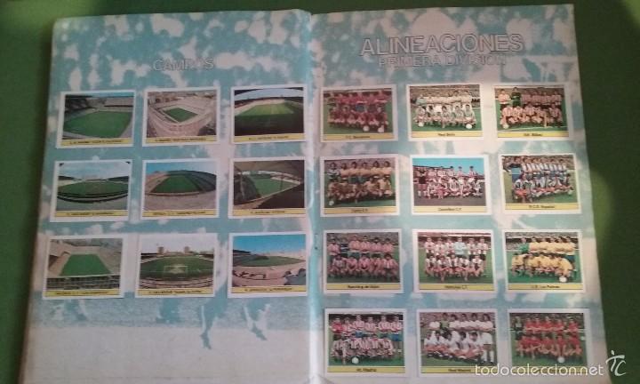 Álbum de fútbol completo: ÁLBUM COMPLETO CROMOS LIGA 81-82 - Foto 13 - 55108392