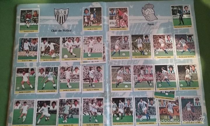 Álbum de fútbol completo: ÁLBUM COMPLETO CROMOS LIGA 81-82 - Foto 15 - 55108392