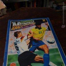 Álbum de fútbol completo: CAMPEONATO MUNDIAL DE FUTBOL USA 94. Lote 55160783
