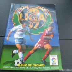 Álbum de fútbol completo: ALBUM ESTE 96/97 MUY COMPLETO CON 489 CROMOS ( ANDERSON Y SECRETARIO VERSIÓN DIFICIL Y OTROS ). Lote 55282286