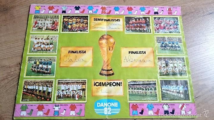 Álbum de fútbol completo: Album futbol en acción 82 Danone completo - Foto 3 - 55297861