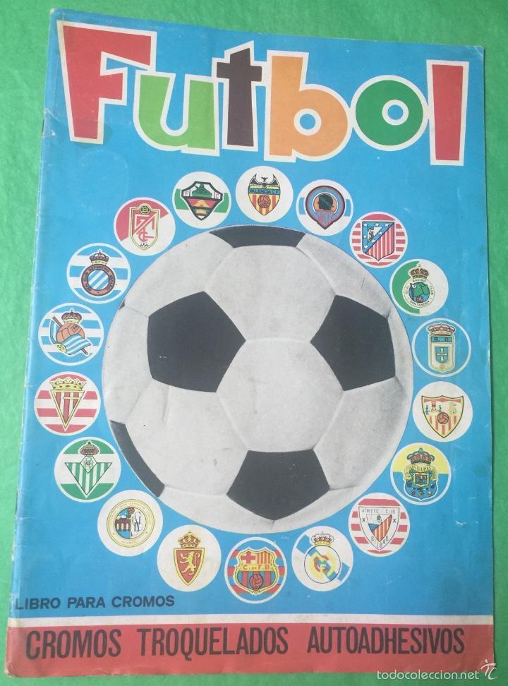 ÁLBUM FÚTBOL TEMPORADA 1975 / 1976 - CROMOS TROQUELADOS AUTOADHESIVOS - EDITORIAL MAGA - COMPLETO (Coleccionismo Deportivo - Álbumes y Cromos de Deportes - Álbumes de Fútbol Completos)