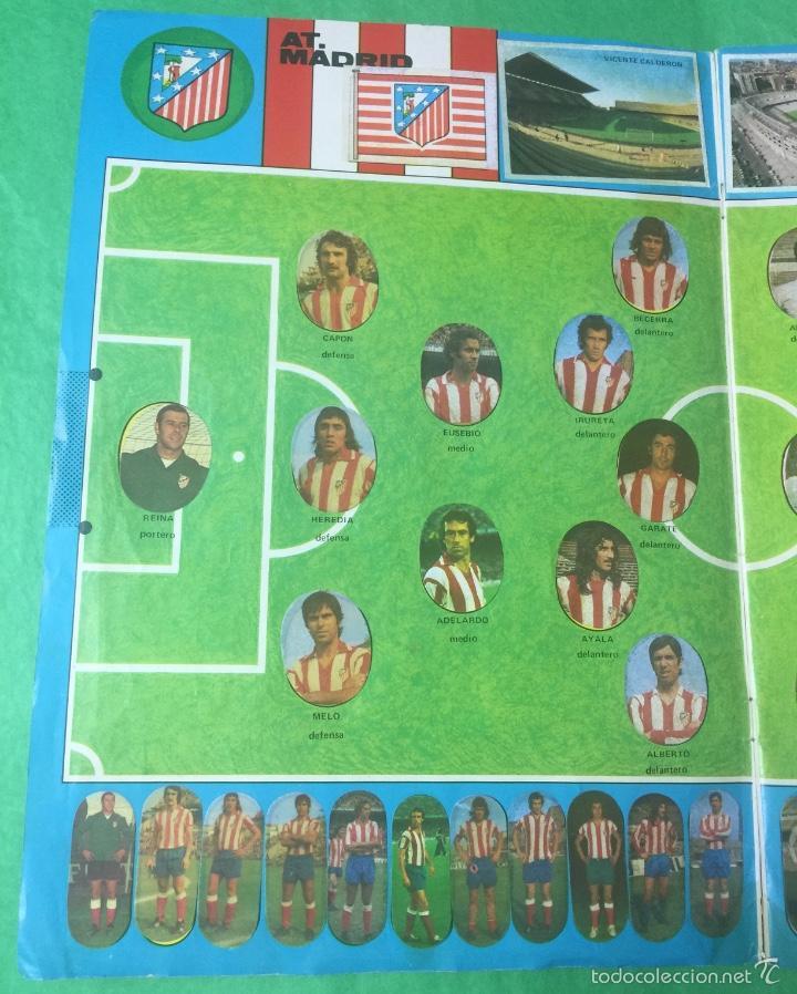 Álbum de fútbol completo: Álbum fútbol temporada 1975 / 1976 - cromos troquelados autoadhesivos - editorial maga - completo - Foto 3 - 55393022