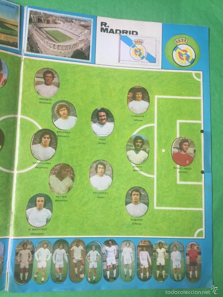 Álbum de fútbol completo: Álbum fútbol temporada 1975 / 1976 - cromos troquelados autoadhesivos - editorial maga - completo - Foto 4 - 55393022