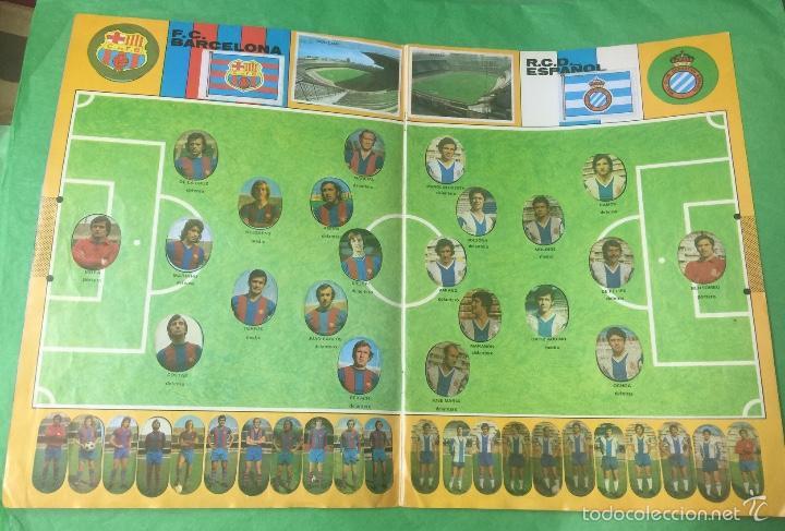 Álbum de fútbol completo: Álbum fútbol temporada 1975 / 1976 - cromos troquelados autoadhesivos - editorial maga - completo - Foto 5 - 55393022