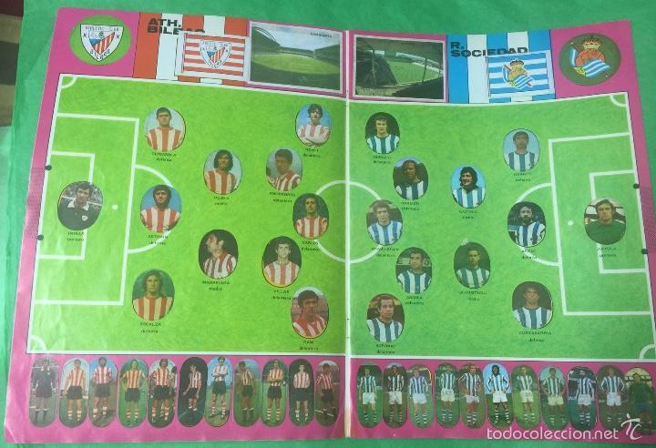 Álbum de fútbol completo: Álbum fútbol temporada 1975 / 1976 - cromos troquelados autoadhesivos - editorial maga - completo - Foto 6 - 55393022