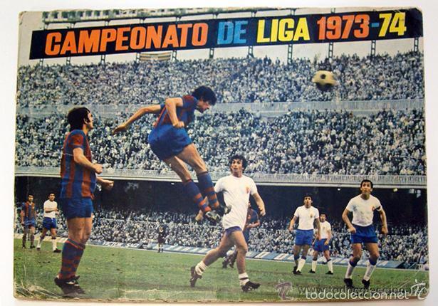 ALBUM 1973 1974 LIGA 73 74 FHER DISGRA. CRUYFF, CARNEVALI, AYALA. COMPLETO CROMOS, SIN POSTER (Coleccionismo Deportivo - Álbumes y Cromos de Deportes - Álbumes de Fútbol Completos)