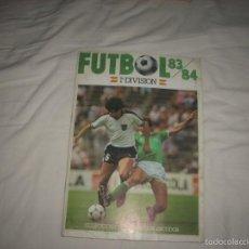 Álbum de fútbol completo: INCREIBLE ALBUM DE LA LIGA 1983-84 DE CROMOS CANO,MIRA LOS QUE TIENE,NUNCA VISTO. Lote 55861233