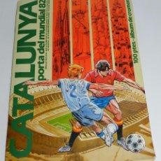Álbum de fútbol completo: ALBUM DE FUTBOL COMPLETO DE CATALUNYA PORTA DEL MUNDIAL 82, CON SUS 110 CROMOS, ED. DIARI AVUI - EN . Lote 55898494