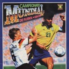 Álbum de fútbol completo: ALBUM DEL CAMPEONATO MUNDIAL USA 94 COMPLETO ED. ESTADIO . Lote 56305372