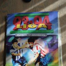 Álbum de fútbol completo: ALBUM CROMOS FUTBOL 93 94 ESTE. 422 CROMOS. COMPLETO. CARTÓN. COLOCAS, FICHAJES Y BAJAS. LEER.. Lote 56327940