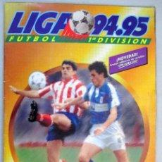 Álbum de fútbol completo: ALBUM DE CROMOS FÚTBOL , LIGA 94 95 , 1994 1995 ,EDICIONES ESTE , COMPLETO DOBLES Y ÚLTIMOS FICHAJES. Lote 56802370