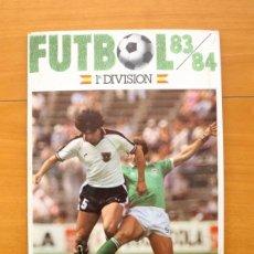 Álbum de fútbol completo: FÚTBOL 83-84 - 1ª DIVISIÓN - CROMOS CANO 1983 - COMPLETO 306 CROMOS, VER EXPLICACIÓN Y FOTOS DENTRO. Lote 56963384